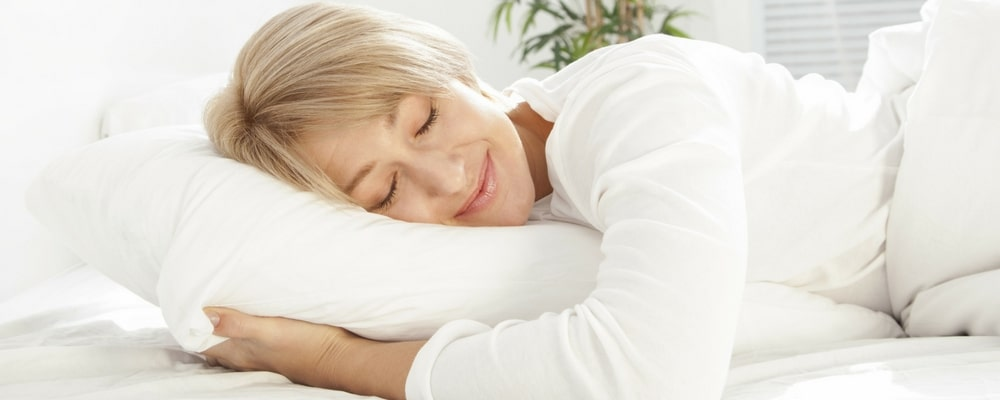 Sleep Natural Gel Mattresses help this woman sleep cool