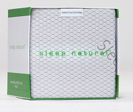 Sleep Natural™ 5-Sided Mattress Protector
