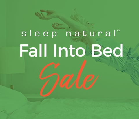 Fall Into Bed Sale - By Sleep Natural - The Best Tempur-Pedic Alternative